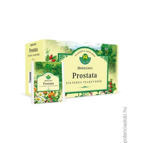 HERBÁRIA PROSTATA TEA FILTERES - 20 FILTER