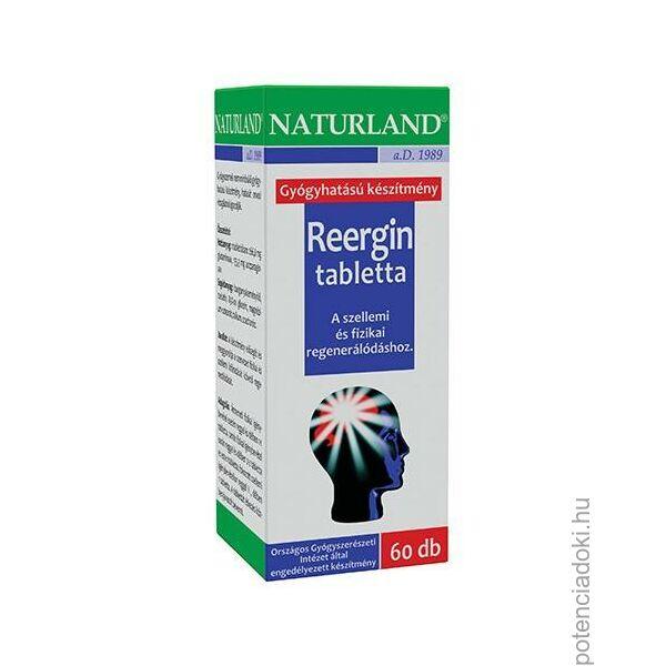 NATURLAND REERGIN TABLETTA - 60 DB