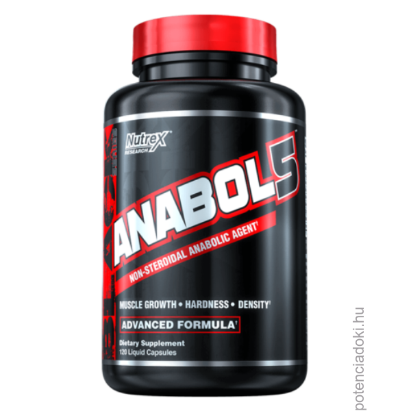 NUTREX ANABOL-5 - 120 DB