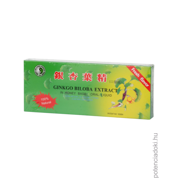 DR.CHEN GINKGO BILOBA EXTRACTUM AMPULLA  -10X10ML