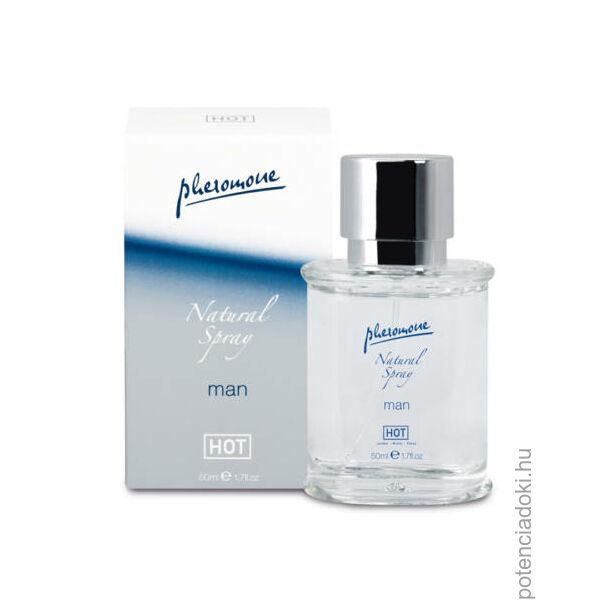 HOT MAN PHEROMON NATURAL SPRAY - 50 ML