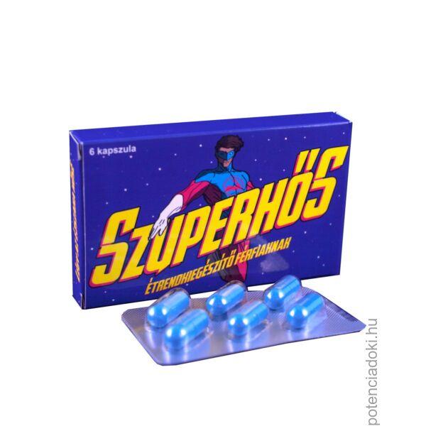 szuperhős potencia kapszula